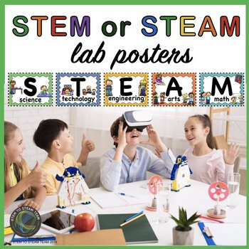 STEM / STEAM Lab Posters