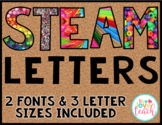 STEM/STEAM Letters