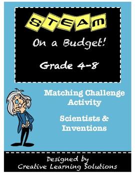 STEM/STEAM Matching Challenge: Scientists & Inventions