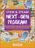 STEM & STEAM Next-Gen Program: Summer Prog, Lesson Plans,