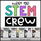 STEM/STEAM Poster Set - Meet the Crew