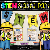 STEM Activity Starter Pack: STEM Challenges, Posters & Flip Book!