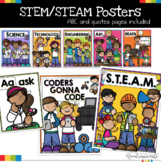 STEM STEAM Posters and ABC Posters