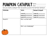 STEM/STEAM Pumpkin Catapult