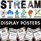 STEM STEAM STREAM Display Posters #2