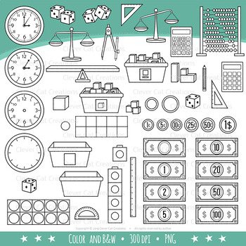 STEM / STEAM Set 5 – Math Clip Art