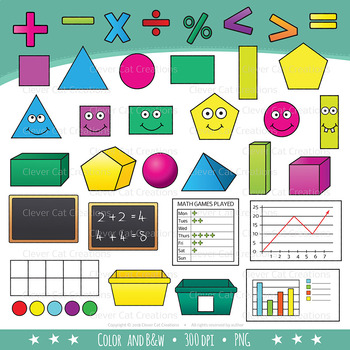 Math Clip Art (STEM series)