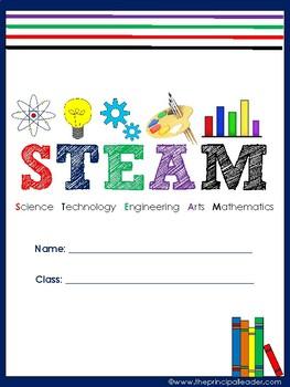 STEM/STEAM Student Binder Cover