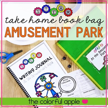 STEM & STEAM Take Home Book Bags: Amusement Park