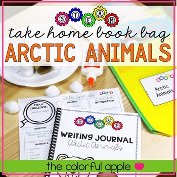 STEM & STEAM Take Home Book Bags: Arctic Animals