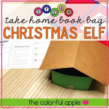 STEM & STEAM Take Home Book Bags: Christmas Elf