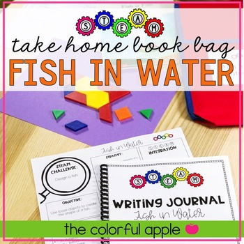 STEM & STEAM Take Home Book Bags: Fish