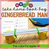 STEM & STEAM Take Home Book Bags: Gingerbread Man