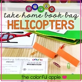 STEM & STEAM Take Home Book Bags: Helicopters