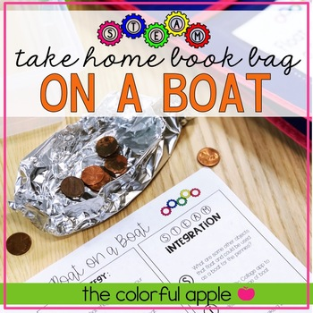 STEM & STEAM Take Home Book Bags: On a Boat