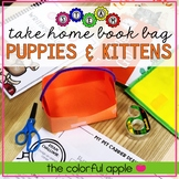 STEM & STEAM Take Home Book Bags: Puppies and Kittens
