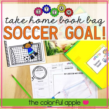 STEM & STEAM Take Home Book Bags: Soccer