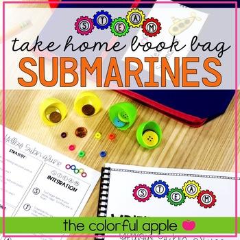 STEM & STEAM Take Home Book Bags: Submarines