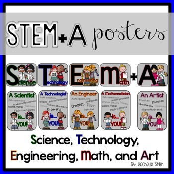 STEM, STEAM, and STEM+A Posters