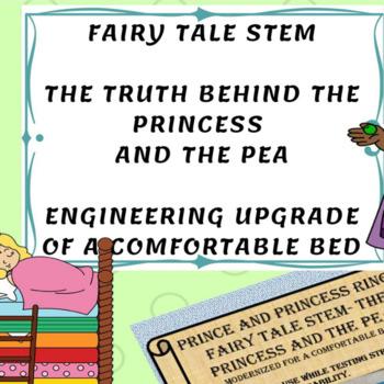 STEM STREAM Fairy Tale- Princess and The Pea