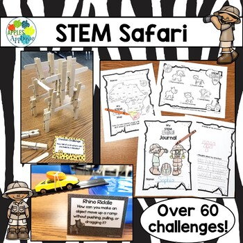 STEM Safari: Over 60 STEM Challenges for Elementary!