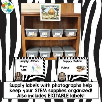 STEM Safari: Over 60 STEM Challenges for Elementary!