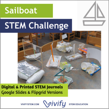 STEM Sailboat Challenge Math & Engineering Activity