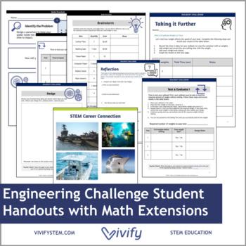 STEM Sailboat Challenge Math & Engineering Activity