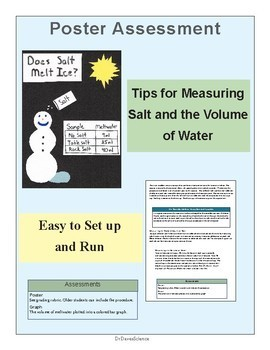 Melting Ice Activity, Salt and Winter Science