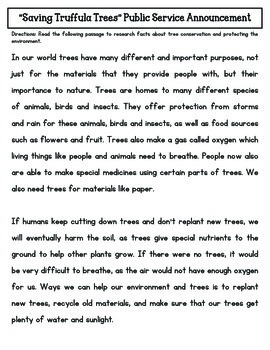 STEM: Saving Truffula Trees CCSS/NGSS