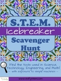 STEM Scavenger Hunt Icebreaker Activity