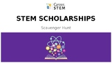 STEM Scholarships Scavenger Hunt Game with lesson