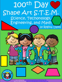 STEM Science, Technology, Engineering & Math: 100th Day Shape Art