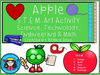 STEM Science, Technology, Engineering & Math: Apple Art
