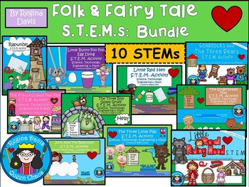 STEM Science, Technology, Engineering & Math: Fairy Tale & Folk Tale Bundle