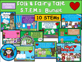 STEM Science, Technology, Engineering & Math: Fairy Tale & Folk Tale Bundle