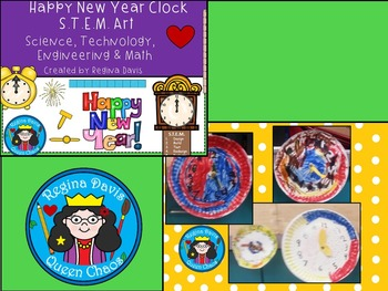 STEM Science, Technology, Engineering & Math...Happy New Year BUNDLE