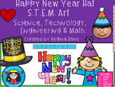 STEM Science, Technology, Engineering & Math: Happy New Year Hat  Art