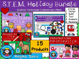 STEM Science, Technology, Engineering & Math Holiday BUNDLE