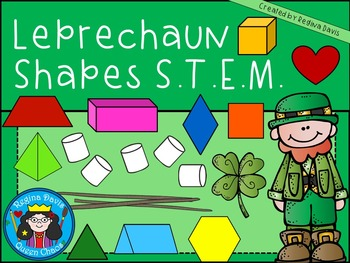 STEM Science, Technology, Engineering & Math: Leprechaun Shapes