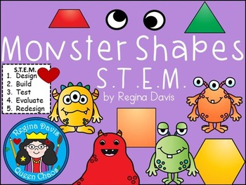 STEM Science, Technology, Engineering & Math: Monster Shapes