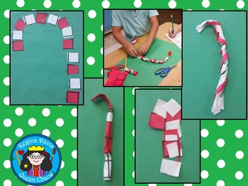STEM Science, Technology, Engineering & Math: Candy Cane Art