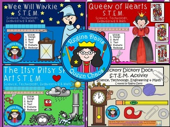 STEM Science, Technology, Engineering & Math: Nursery Rhymes Bundle