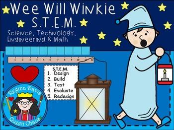 STEM Science, Technology, Engineering & Math: Nursery Rhyme Wee Willie Winkie