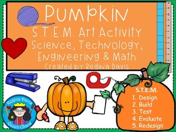 STEM Science, Technology, Engineering & Math: Pumpkin Art