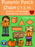 STEM Science, Technology, Engineering & Math: Pumpkin Patch Shapes