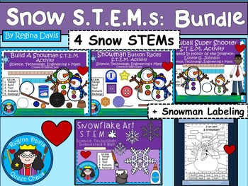 STEM Science, Technology, Engineering & Math Snow BUNDLE
