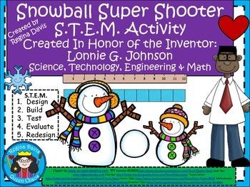 STEM Science, Technology, Engineering & Math: Snowball Super Shooter