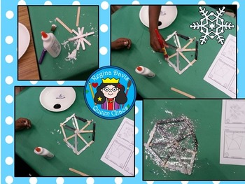 STEM Science, Technology, Engineering & Math: Snowflake Art