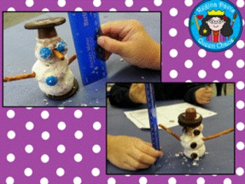 STEM Science, Technology, Engineering & Math: Snowman Building